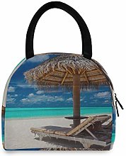 Man Lunchboxes Favorite Vacation Beach Tent Lunch