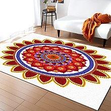 Mandala Colorful Carpet for Living Room Home