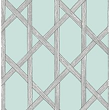 Mandara 10.05m x 52cm Trellis Roll Wallpaper