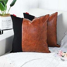 Mandioo Brown Black Luxury Boho Decorative Cushion