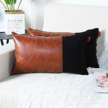 Mandioo Brown Black Luxury Boho Decorative Lumbar