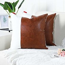 Mandioo Brown White Luxury Boho Decorative Cushion