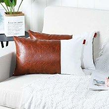 Mandioo Brown White Luxury Boho Decorative Lumbar