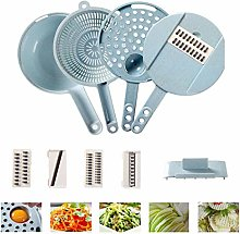 Mandolin Slicer,7 in 1 Food Cutter Slicer, Storage