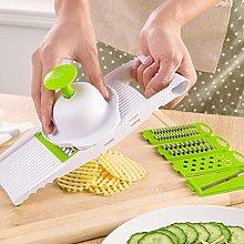 Mandolin Vegetable Slicer 5Blades Stainless