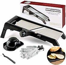 Mandoline Food Slicer, Adjustable Stainless Steel