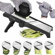 Mandoline Slicer, 3 in 1 Stainless Steel Mandoline