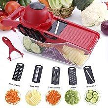 Mandoline Slicer - Vegetable Slicer 5 in 1