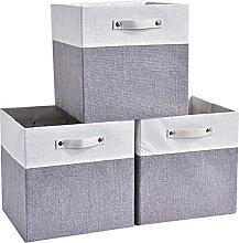 Mangata Cube Storage Boxes 33x33x33 cm, Fabric