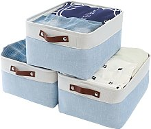 Mangata Fabirc Storage Boxes,[3 Pack]Large