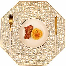 Mangata Gold Placemat, Washable Kitchen Dinner