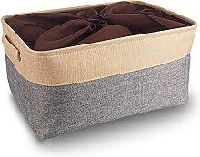 Mangata Jumbo Canvas Storage Box, Fabric Storage