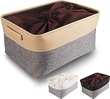 Mangata Large Canvas Storage Box, Fabric Storage