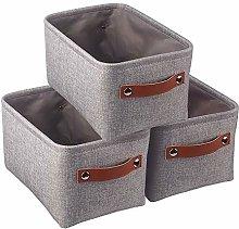 Mangata Set of 3 Fabric Storage Boxes, Small