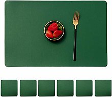 Mangata Set of 6 Wipeable Table mats and 6