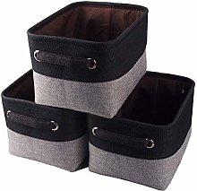 Mangata Small Canvas Storage Box, Fabric Storage