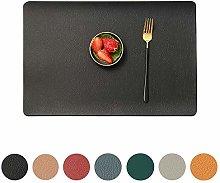 MANGATA Wipeable Table mats, Set of 8 Non Slip