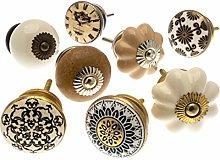 Mango Tree - Ceramic Door Knobs Shabby Chic