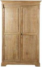 Mango wood wardrobe Naturaliste