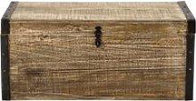 Mango wooden trunk