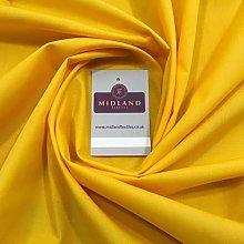 Mango yellow PolyCotton Fabric - Dress Craft 44