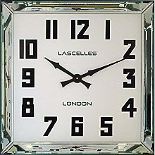 Manhattan Mirror Framed Wall Clock - 60cm