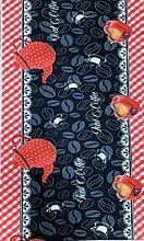 MANI TEXTILE Kitchen Rug Polyester Coffee 50 x 120