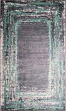 MANI TEXTILE Rug, Polyester, Black, 120 x 180