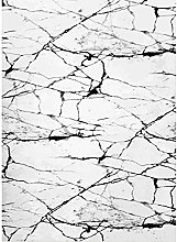 Mani TEXTILE TPS_MARB_BLAN_80 Rug Polyester White