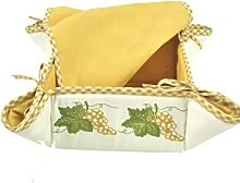 Manifattura Toscana Textile Square Bread Basket