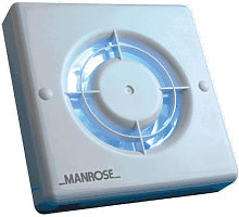 Manrose Pullcord Controlled Extractor Fan 100mm -