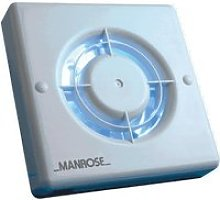 Manrose Timer Controlled Extractor Fan 100mm -