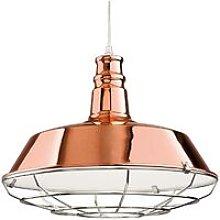 Manta - 1 Light Dome Ceiling Pendant Copper,