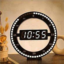 Mantel Clock 3D LED Digital Wall Clock Electronic