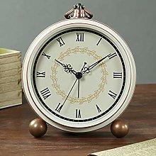 Mantel Clock, 5.5 Inch Silent Vintage Mantle Clock