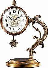 Mantel Clock Copper-plated Pendulum Clock For
