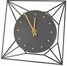 Mantel Clock Geometric Creative Clock Desktop