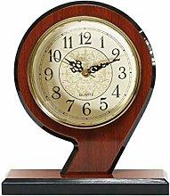 Mantel Clock Wooden Mantle Clock For Living Room
