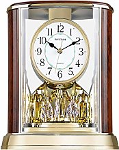 Mantel Table Clock, Crystals Tone Mantle Clocks