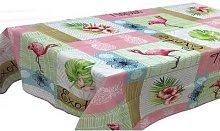 Mantel Tablecloth: Flamingo/130cm x 150cm