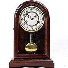 Mantle Clock, Mechanical Pendulum Clock Reporting