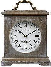 Mantle Clock Vintage Rustic Design 23cm x 20cm