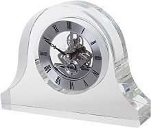 Mantle Tabletop Clock Dartington Crystal