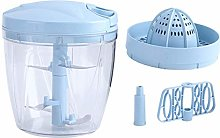 Manual Food Chopper, Compact, Blender to Chop