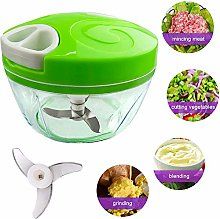 Manual Food Chopper, Multifunction Home Kitchen