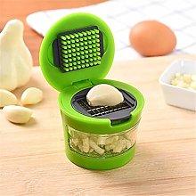 Manual Food Processor Mini Portable Garlic Chopper