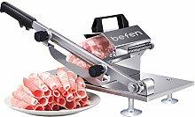 Manual Frozen Meat Slicer, befen Stainless Steel