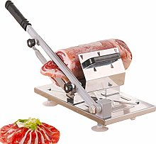 Manual Frozen Meat Slicer, Stainless Steel Meat