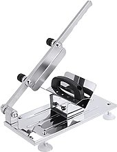 Manual Frozen Meat Slicer with Extra Press Cover,