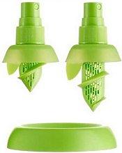 Manual fruit juice sprayer, creative lemon juicer,